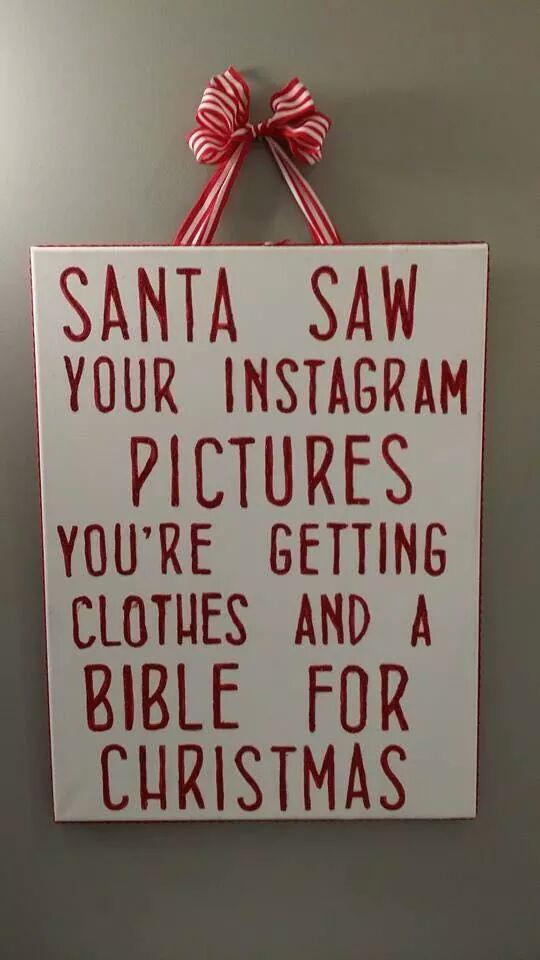 Random Photo Santa Saw Your Instagram Pics MajorGeeks