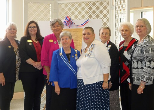 Chapter members at the Quapaw District meeting
