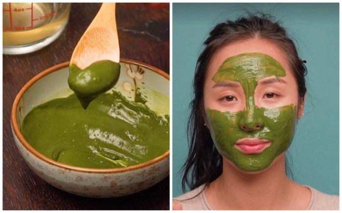 Matcha Green Tea Face Mask For Acne 110- Major Mag
