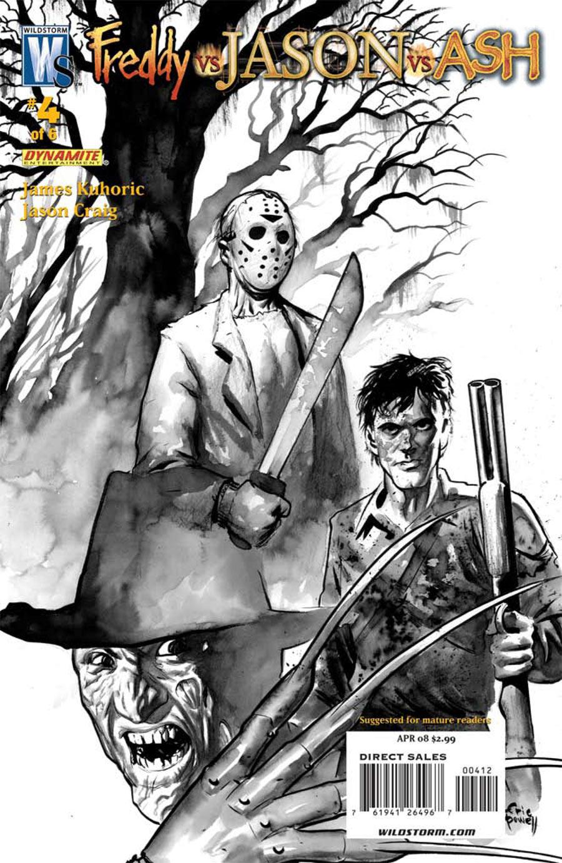 Freddy Eric Covers Vs Jason Vs Powell Ash Comic