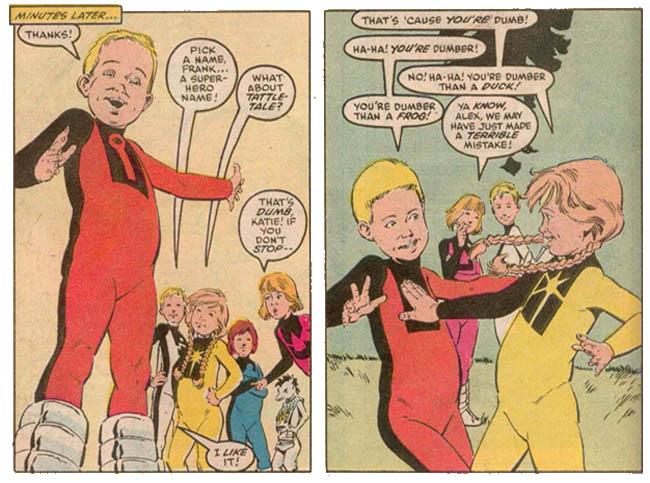 Image result for power pack comic 1980's family
