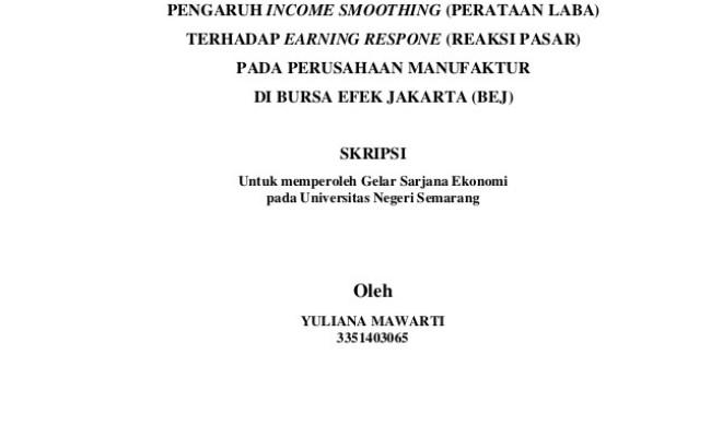 Contoh Judul Skripsi Akuntansi Tentang Sistem Informasi Cuitan