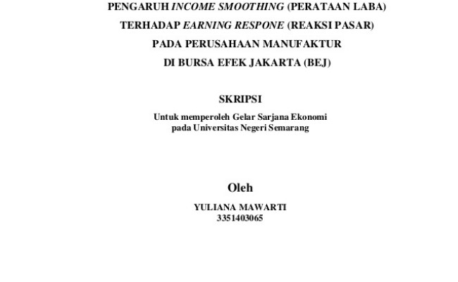 Judul Skripsi Akuntansi Perpajakan Lengkap