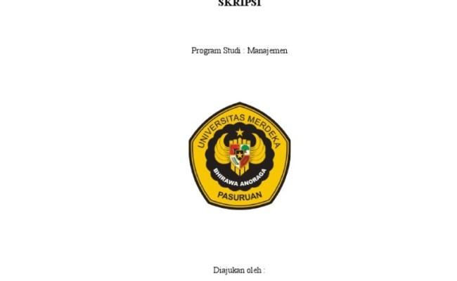 Contoh Judul Skripsi Manajemen Operasional Ide Judul Skripsi Universitas Cute766