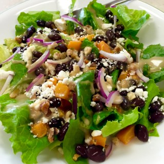 Roasted Butternut Black Bean Salad