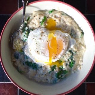 Savory Egg Oatmeal