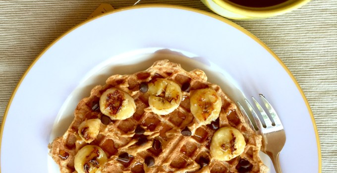 Ultra Light and Crisp Healthy Waffles