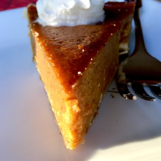 Bourbon Spiced Pumpkin Pie