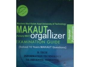 IT 7th Semester (WBUT) Makaut Organizer Guide Book