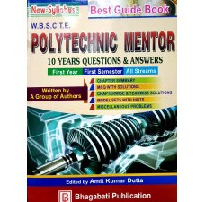 2nd Semester Polytechnic Mentor(All Branches) by Bhagabati Publication