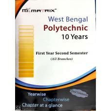 Second Semester MATRIX Polytechnic Organizer (All Branches)-2020