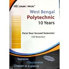 2nd(Second) Semester MATRIX Polytechnic Organizer (All Branches)