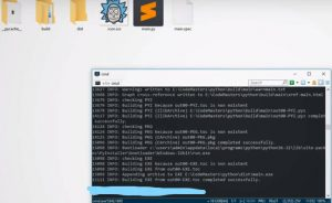 Как скомпилировать Python код в .exe
