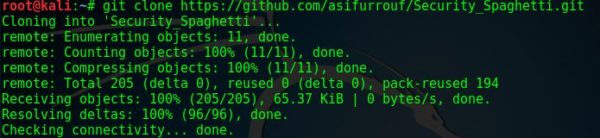 Сканирование безопасности веб-приложений с помощью Spaghetti