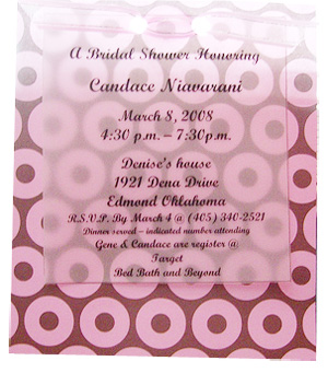 Handmade Bridal Shower Invitations Is One Of Best Ideas Which Can Be Applied Into Your Invitation 7