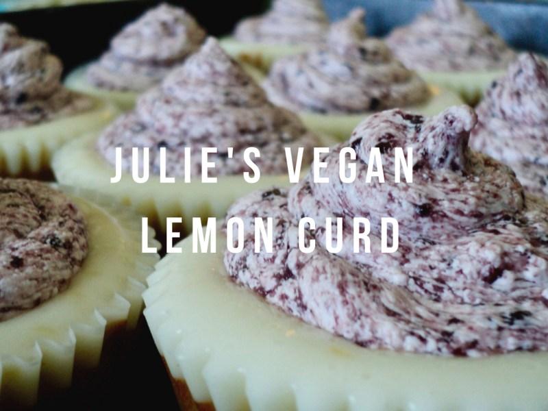 Julie's Vegan Lemon Curd • by Julie Conner Dunlap for Makeadlib.com