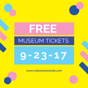 FREE Museum Tickets!