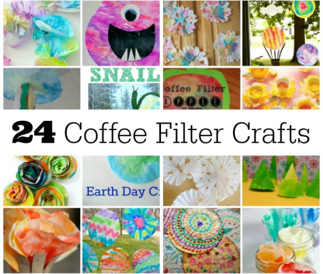 Coffee Filter Crafts To Make