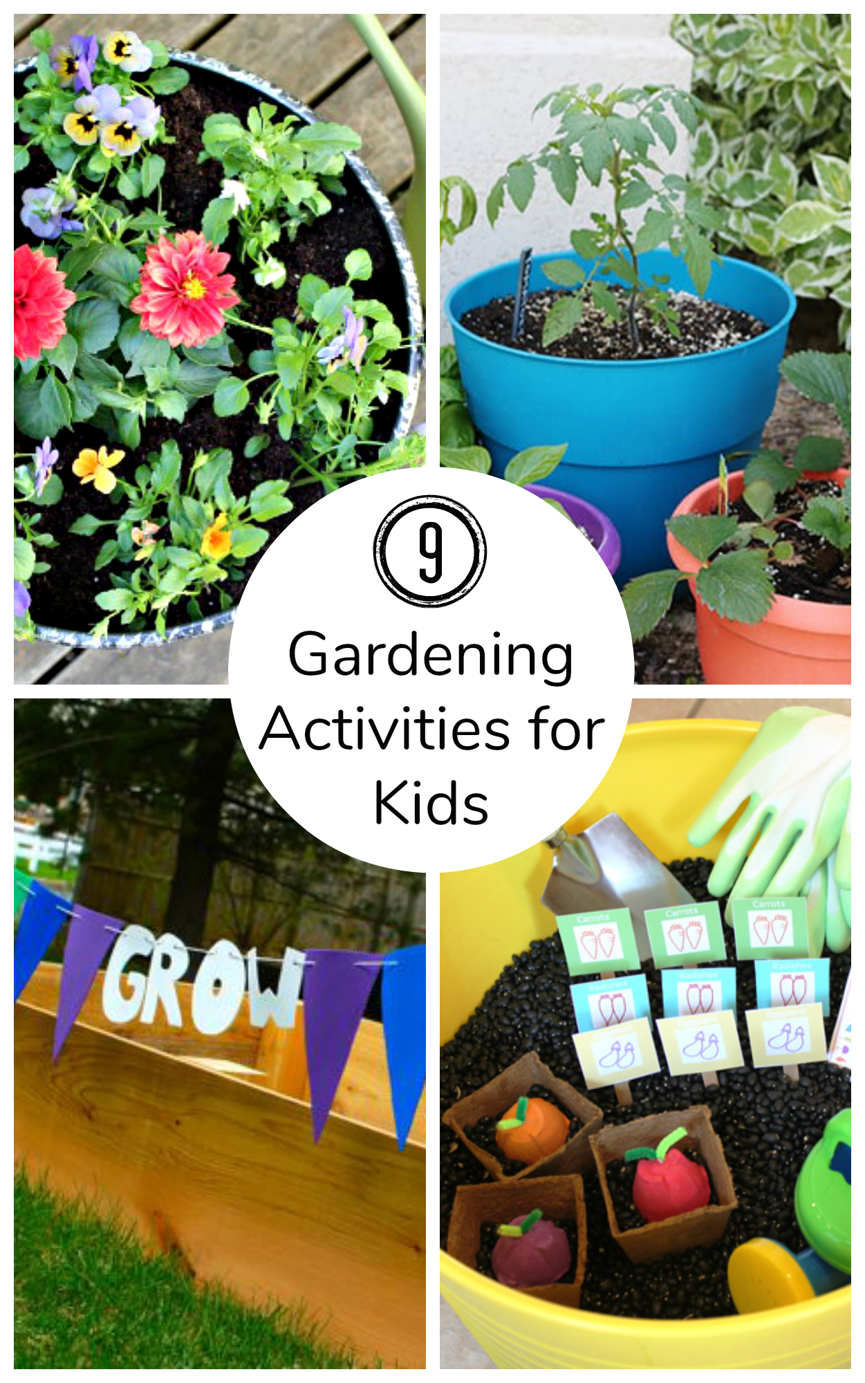 9 Now Ideas Gardening Activities For Kids