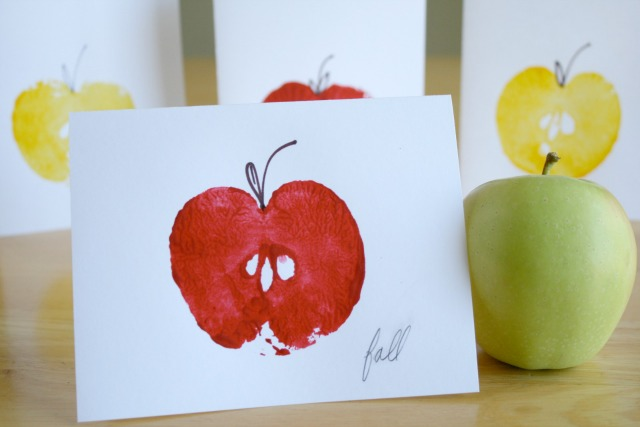 green apple kitchen decor cabinet repair stamped cards for back to school | make and takes