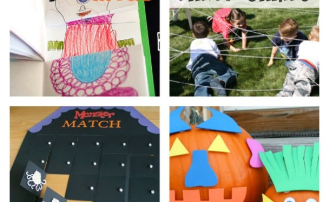 Simple Ideas For Your Halloween Class Party Make And Takes