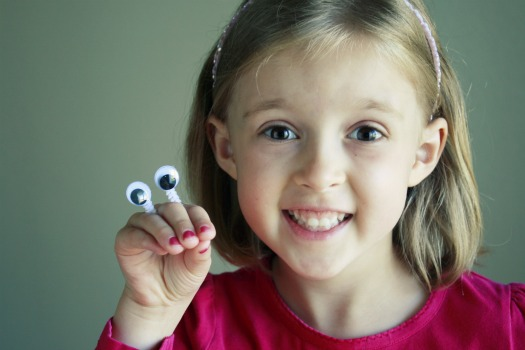 Eye Popping Fun With A Googly Eye Finger Puppet Make And