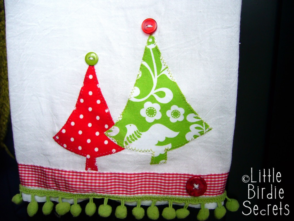 Make Your Own Chic Embellished Tea Towels  Make and Takes
