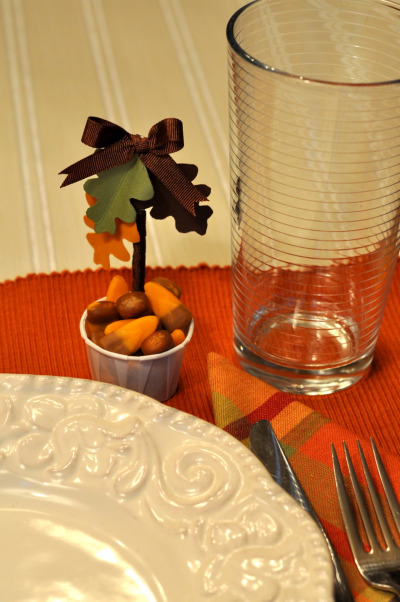 chicken decor for kitchen wall racks candy cups the thanksgiving table | make and takes