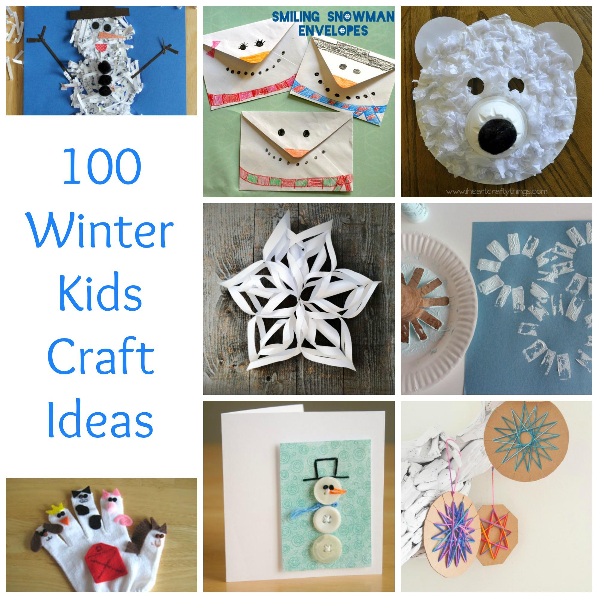 100 Winter Kids Craft Ideas