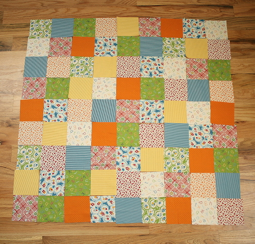 How to work with quilt patterns diary of a quilter a quilt blog for this project as we continue on our quilt along we are going to make a baby quilt measuring 42 x 42 using 81 4 squares with 3 wide borders on all fandeluxe Choice Image