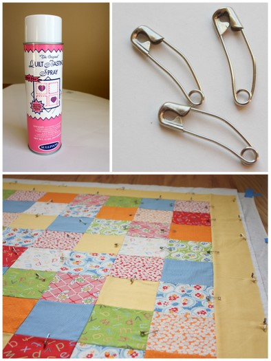 Basting and quilting for Beginners - Diary of a Quilter - a quilt blog : basting a quilt - Adamdwight.com