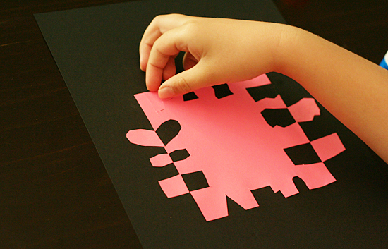 Positive And Negative Cut Out Shapes Make And Takes