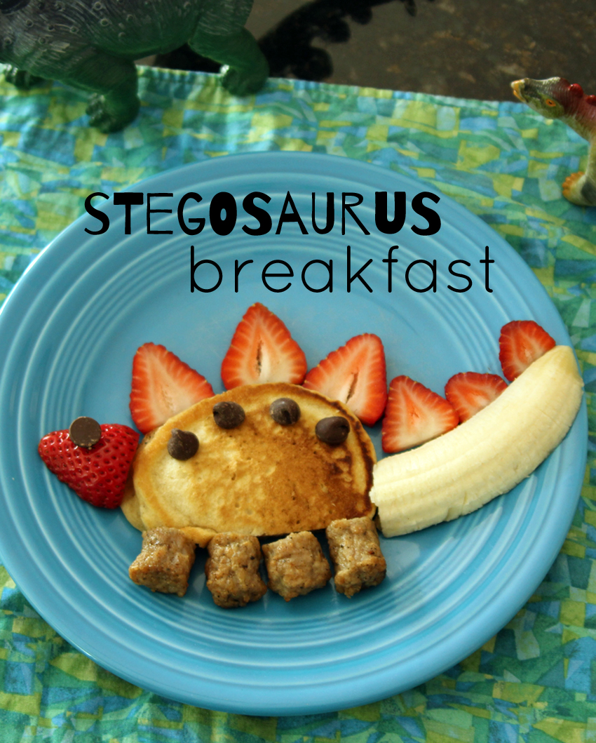 Silly Kid Friendly Stegosaurus Breakfast Make And Takes