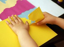 Creating Torn Paper Landscapes | Make and Takes