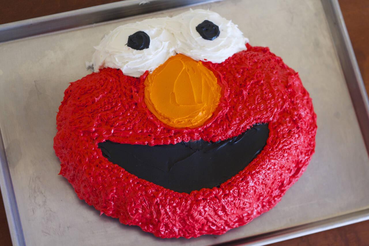 Elmo Birthday Cake Recipe Makebetterfoodcom