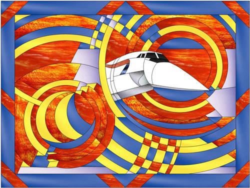 Air Art Deco GBA  Flight  MakeCNCcom