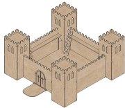 simple medieval castle - castles