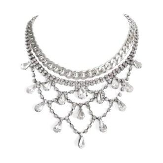 comprar collar con cristales y eslabones