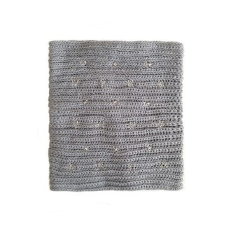 comprar online cuello de punto gris