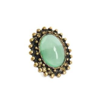 imagen de anillo vintage verde