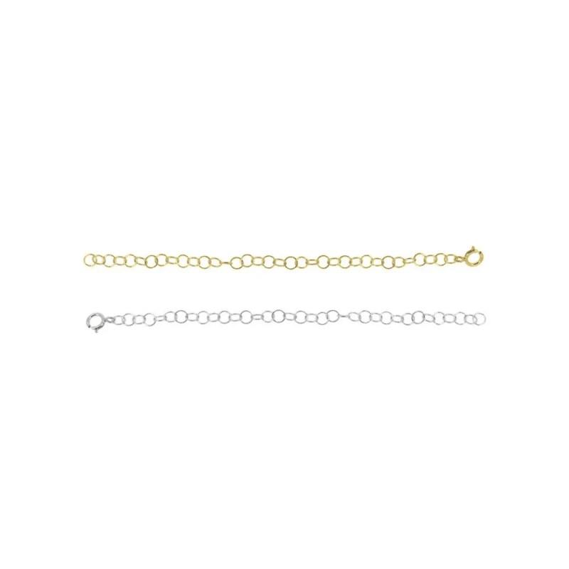 Alargador para cadenas o colgantes de plata