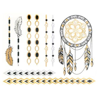 comprar flash gold tattoos