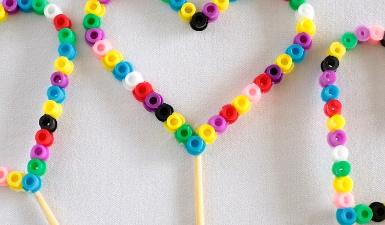 Perler Beads Bubble Wand