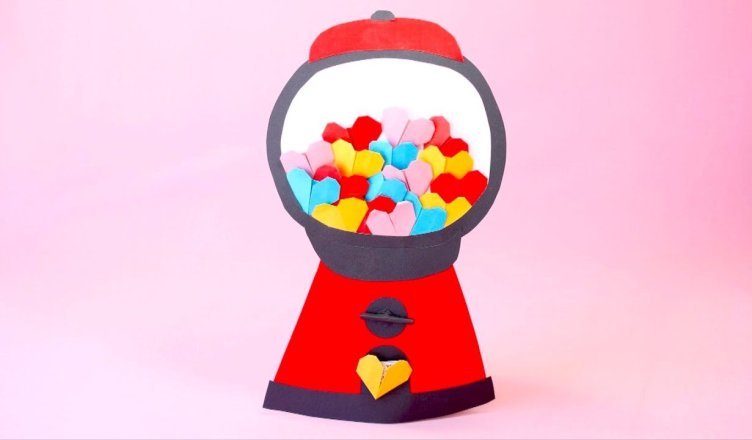 How to Make Mini Origami Hearts for Valentine's Day
