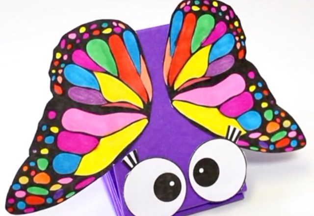 How to Make a Butterfly Paper Puppet