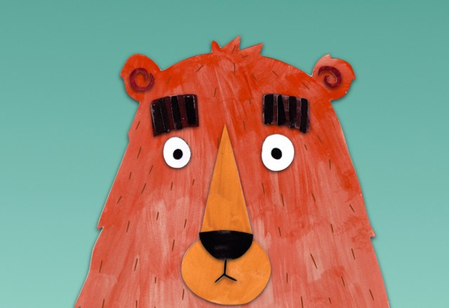 The Bear Who Stared (book craft)
