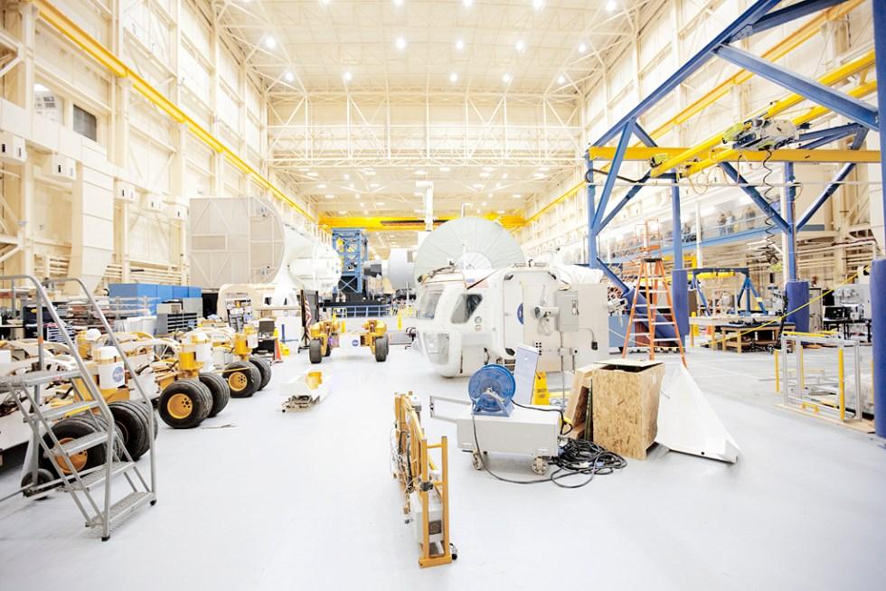 Johnson Space CTR R&D area