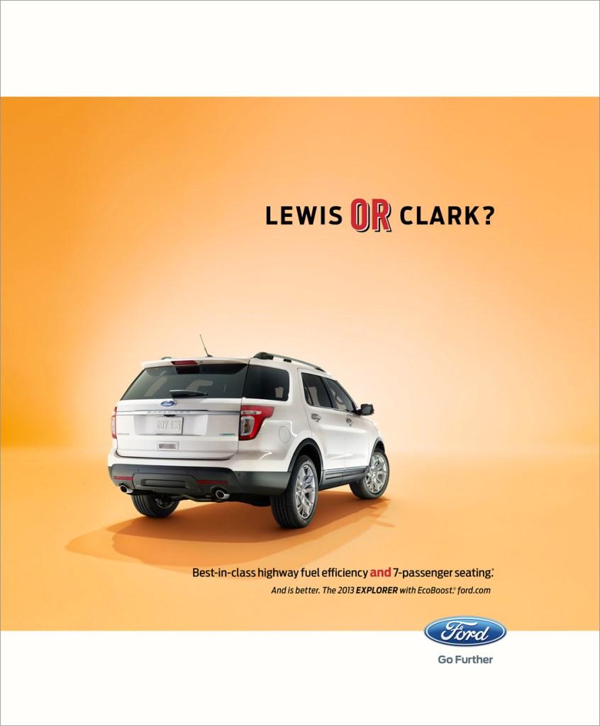 Nick Meek Ford Lewis or clark