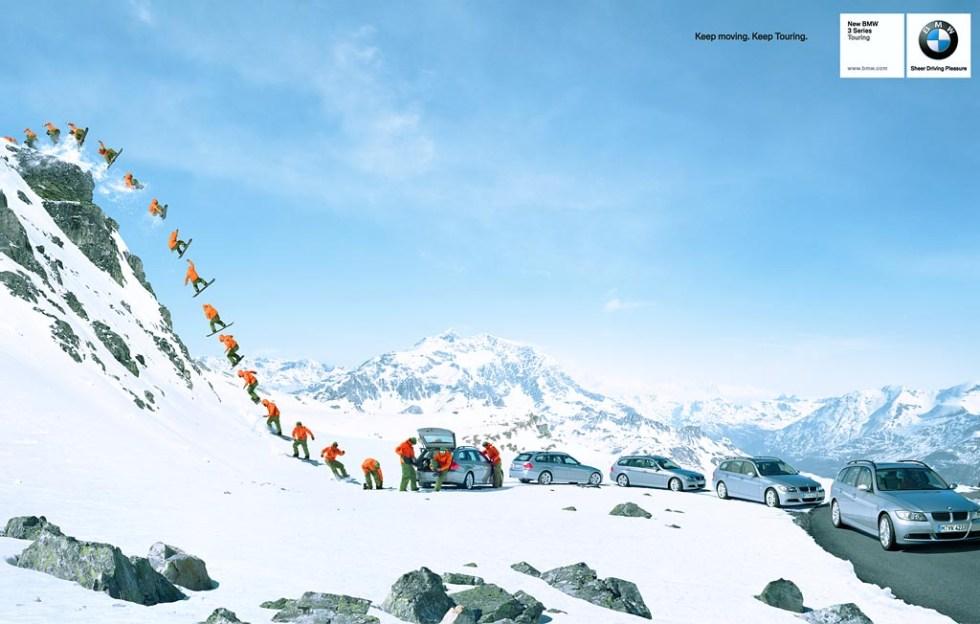 BMW - Snowboard