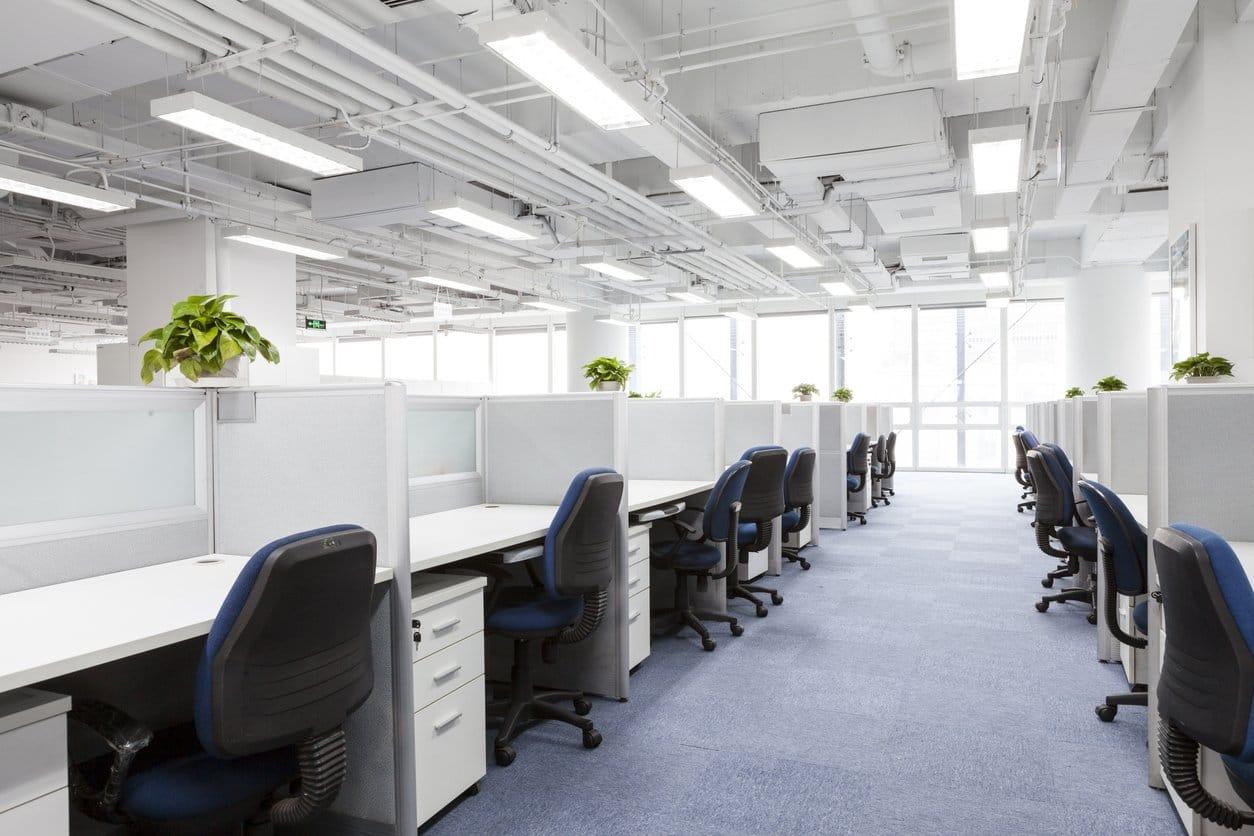 to block fluorescent lighting at work